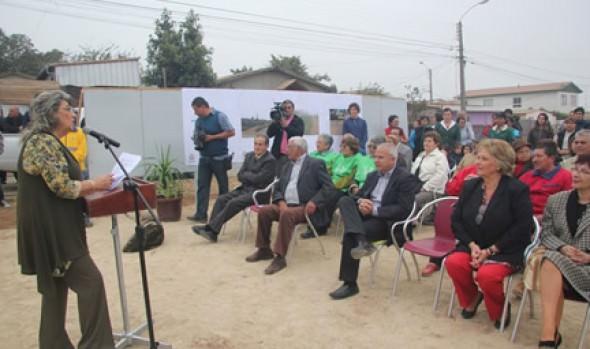 Nuevo mobiliario urbano y área verde fueron inaugurados  por alcaldesa Virginia Reginato en Miraflores Alto
