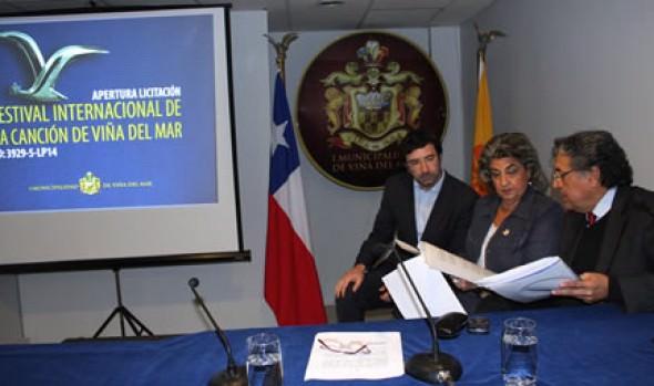 Municipio de Viña del Mar  abrió propuestas de concesión para Festival Internacional de la Canción
