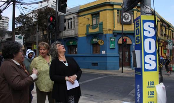 Positivo balance de operatividad de cámaras parlantes realizó alcaldesa Virginia Reginato