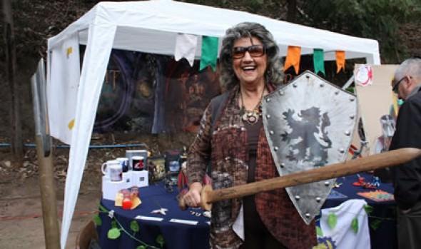 Primera feria Medieval y de Fantasías  fue inaugurada por alcaldesa Virginia Rreginato