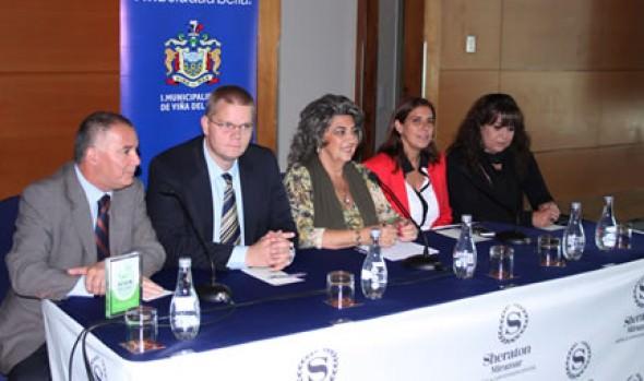 En Viña del Mar se realizará encuentro de  grandes operadores de Congresos mundiales, anunció alcaldesa Virginia Reginato