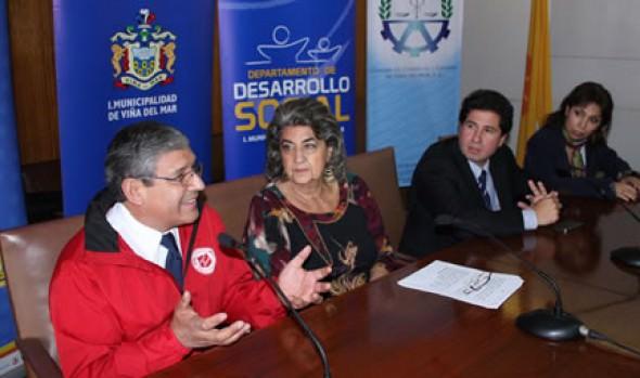 """Municipio de Viña del Mar y Ejército de Salvación  realizan campaña """"Ayudemos a levantar el Norte"""""""