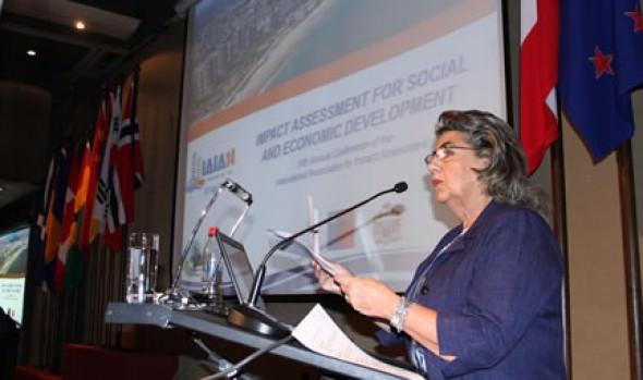 Conferencia Mundial de evaluación ambiental fue inaugurada por alcaldesa Virginia Reginato
