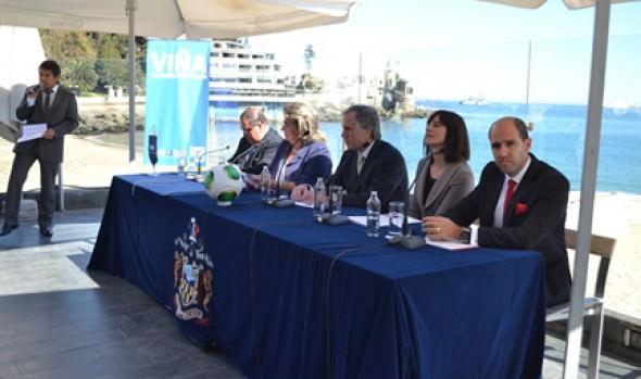 Ratificación de Viña del Mar como sede del Mundial de fútbol sub 17, fue valorado por alcaldesa Virginia Reginato
