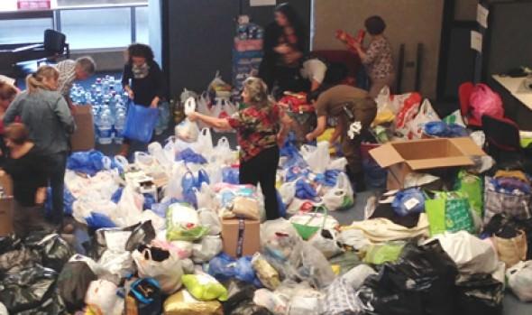 Municipio de Viña del Mar inició campaña de ayuda a damnificados de Valparaíso