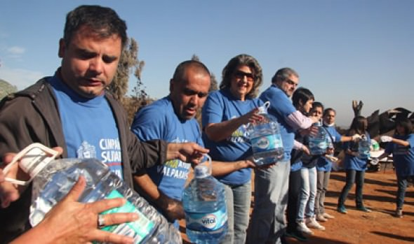Municipalidad de Viña del Mar realiza nueva e importante entrega de ayuda a damnificados de Valparaíso