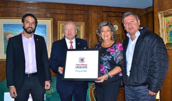 Comité Organizador de Copa América comenzó trabajo con Municipalidad de Viña del Mar