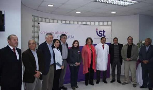 Autoridades regionales y alcaldesa Virginia Reginato conmemoraron el Día del Trabajador con visita al IST