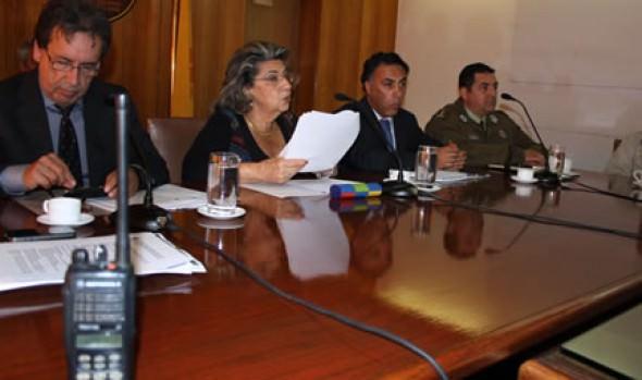 Mesa de Trabajo para Prevención de Riesgos y Emergencias fue convocada por alcaldesa Virginia Reginato