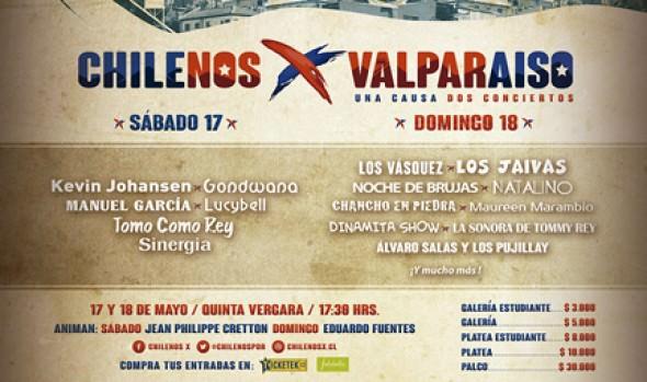 """A actividad solidaria """"Chilenos por Valparaíso"""" invita alcaldesa Virginia Reginato en la Quinta Vergara"""