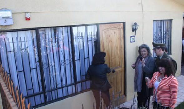 Alarmas comunitarias inauguró alcaldesa Virginia Reginato en Santa Julia para potenciar  seguridad del  barrio