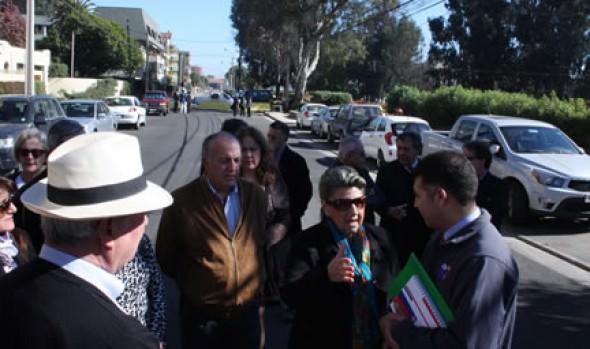 Municipio de Viña del Mar interviene para apertura de calle Vicuña Mackenna en Reñaca