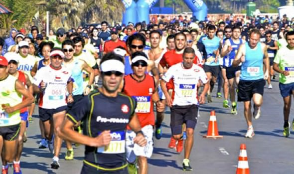 Más de 800 personas participaron en primera corrida familiar organizada por Municipalidad de viña del Mar