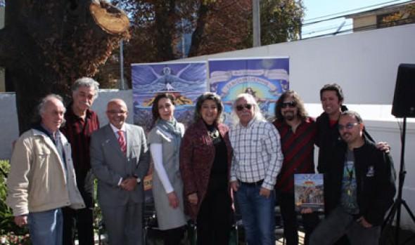 Sala museo y Ruta de Los Jaivas fue inaugurada por alcaldesa Virginia Reginato