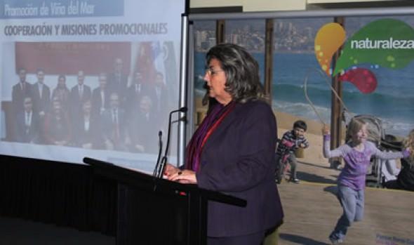 Plan de promoción turística para Viña del Mar fue dado a conocer por alcaldesa Virginia Reginato