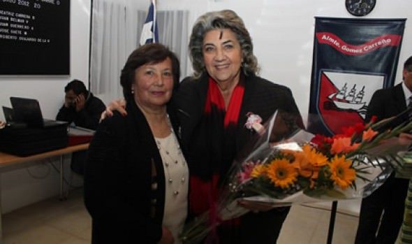 Unión de JJVV de Gómez Carreño celebró 22 años en ceremonia encabezada por alcaldesa Virginia Reginato