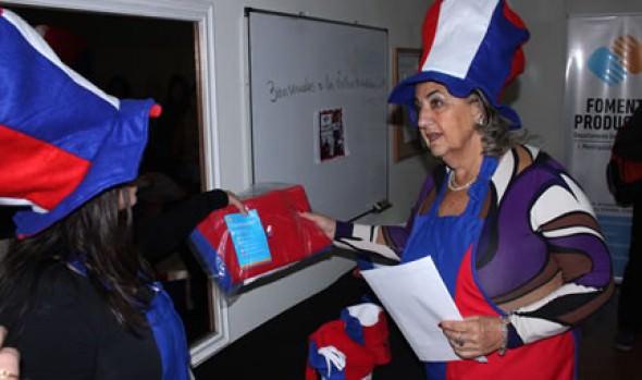 Talleres Mundialeros para apoyar a la Selección dio a conocer alcaldesa Virginia Reginato