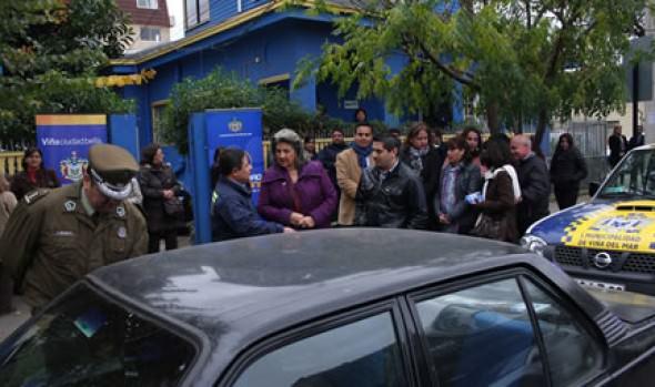 Seguridad Ciudadana de la Municipalidad de Viña del Mar sigue destacándose en la recuperación de vehículos robados