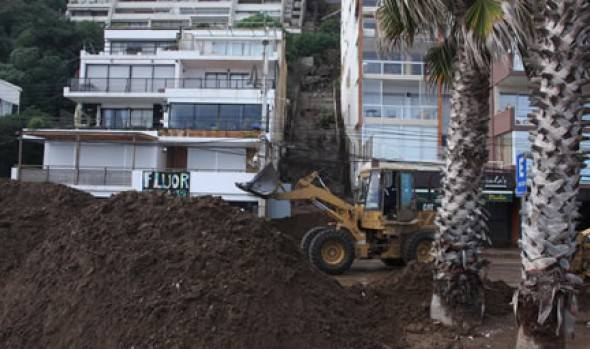 MOP inicia trabajos en colector Las Golondrinas de Reñaca por gestiones de alcaldesa Virginia Reginato