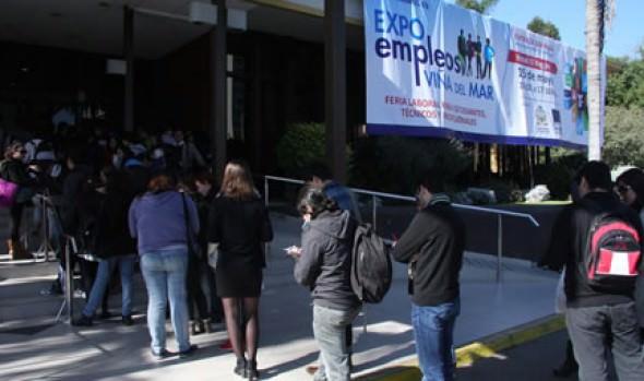 Más de mil puestos  de trabajo ofrecerá Expo empleos 2014 organizada por la Municipalidad de Viña del Mar