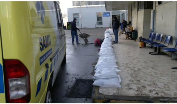 Municipalidad de Viña del Mar colaboró en faenas de limpieza en  Hospital Gustavo Fricke