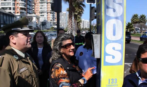 Municipalidad de Viña del Mar aumentará cantidad de cámaras de televigilancia en la ciudad