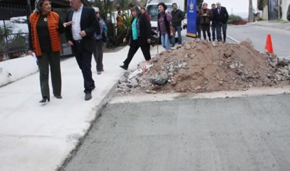 Municipio de Viña del Mar aumenta cobertura en obras de bacheo y recapado de calles