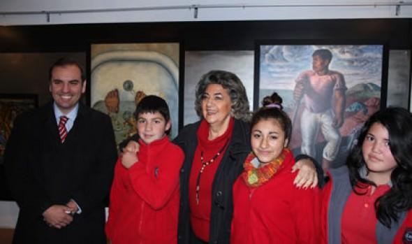 Exposición ¿Cómo Somos? Diversidad Cultural en Latinoamérica, fue inaugurada por alcaldesa Virginia Reginato