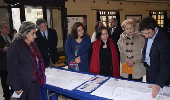 Ministra de Cultura  comprometió trabajo conjunto con alcaldesa Virginia Reginato para recuperar Teatro Municipal
