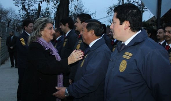 Aniversario  81 de la PDI fue encabezado por alcaldesa Virginia Reginato en Viña del Mar