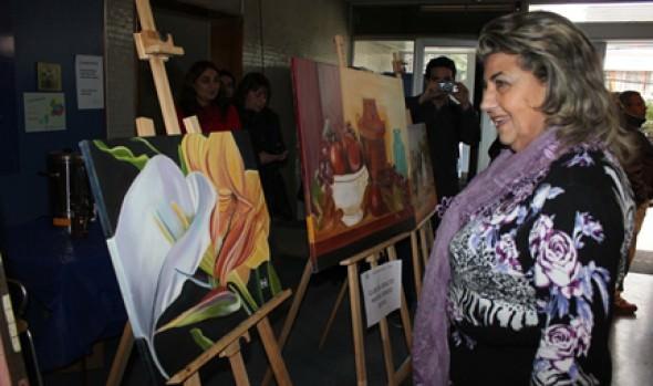 Organizaciones de adultos mayores y mujeres realizaron expo otoño-invierno en municipio de Viña del Mar