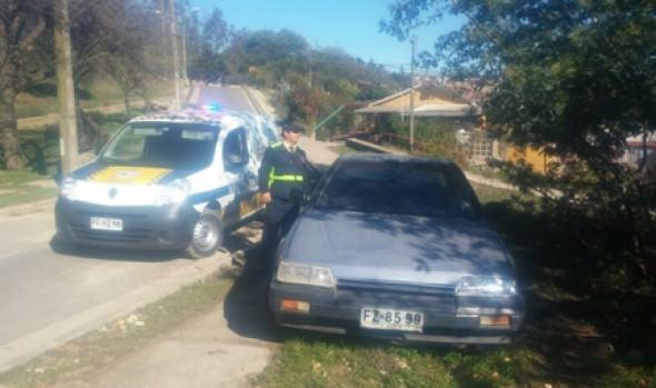 Seguridad Ciudadana de la Municipalidad de Viña del Mar recupera en una semana 5 vehículos con encargo de robo