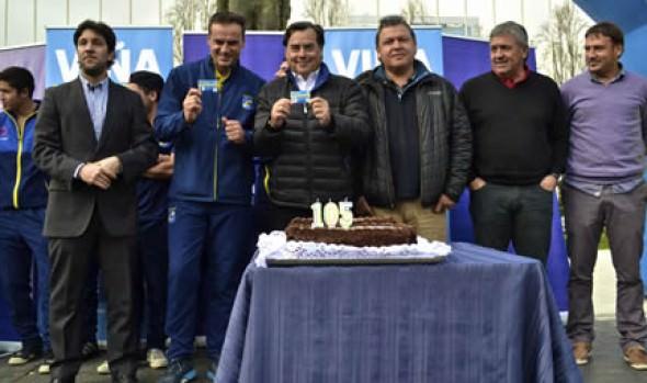 Everton de Viña del Mar celebró 105 años con campaña de socios