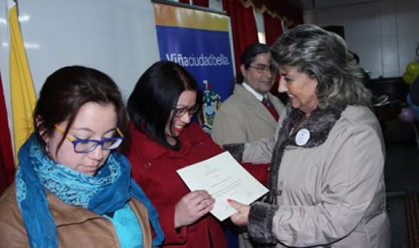 Con énfasis en la labor educativa alcaldesa Virginia Reginato conmemoró día de la prevención en Viña del Mar