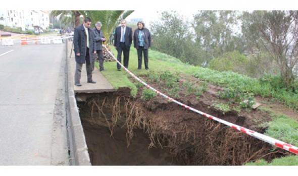 Medidas para superar problemas por socavón de Reñaca fueron valoradas por alcaldesa Virginia Reginato