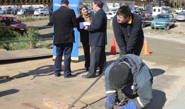Municipio de Viña del Mar inició reparación de puentes mecanos del estero