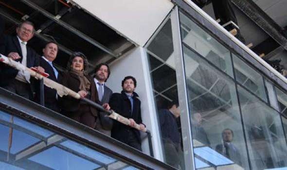 Obras de estadio Sausalito presentan 60% de avance confirmó alcaldesa Virginia Reginato