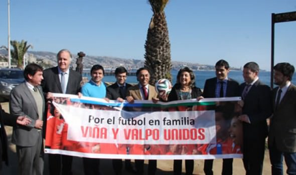 Autoridades de Viña y Valparaíso instan a erradicar la violencia de los estadios