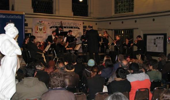 Municipalidad de Viña del Mar invita a concierto de de Orquesta Marga Marga
