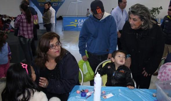 """Miles de niños participaron de """"Vacaciones de invierno en tu barrio"""" organizada por Municipalidad de Viña del Mar"""