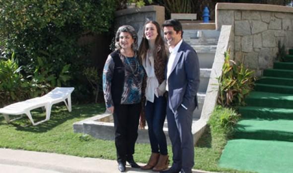 Carolina de Morás y Rafael Araneda fueron confirmados por alcaldesa Virginia Reginato como animadores Viña 2015