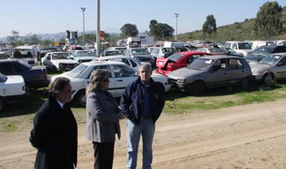 Municipio de Viña del Mar prepara el remate de 400 vehículos que se encuentran en parqueadero