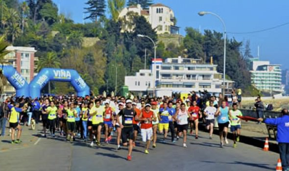 """Municipalidad de Viña del Mar invita a 2a fecha de Corridas Familiares """"Corre por tu Salud"""" 2014"""