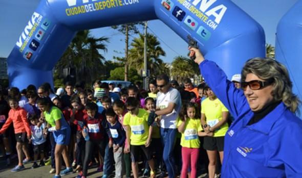 Más de 800 runners participaron en Corrida en homenaje a Everton organizada por la Municipalidad de Viña del Mar