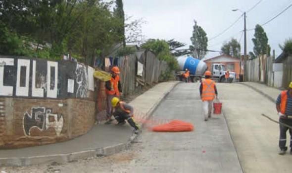 Inicio de proceso para pavimentación de 49 calles de la comuna fue valorado por alcaldesa Virginia Reginato