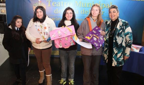 Municipalidad de Viña del Mar premió la creatividad artística de personas  con capacidades diferentes