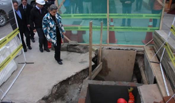 Obras de mejoramiento para el suministro de agua potable en Viña del Mar fue destacado por alcaldesa Virginia Reginato