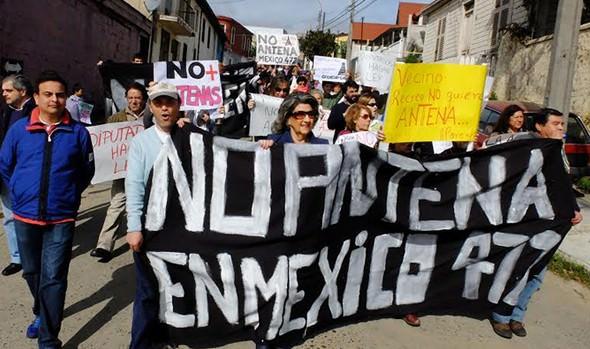 Todo el apoyo a vecinos contra la instalación de antenas celulares en barrios de Viña del Mar, brindó alcaldesa Virginia Reginato