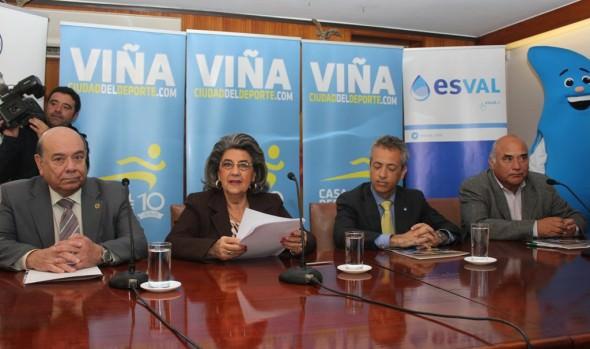 Municipio de Viña del Mar firma tres convenios de cooperación para apoyar eventos deportivos