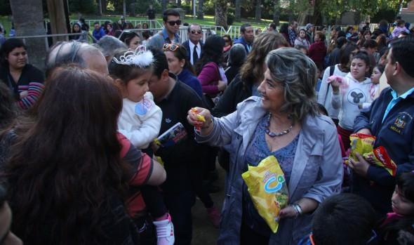 Miles de niños participaron en fiesta para celebrar su día, organizada por la Municipalidad de Viña del Mar